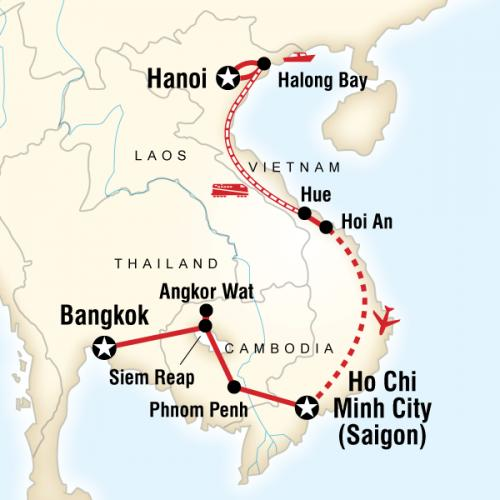 How to get Cambodia from Vietnam in your Indochina tours?
